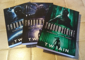 Shadows series - paperbacks