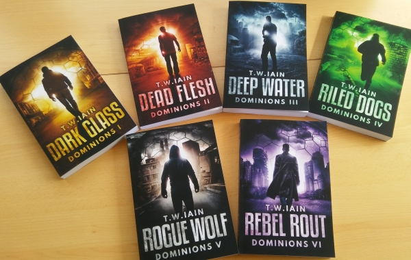 Dominions series paperbacks